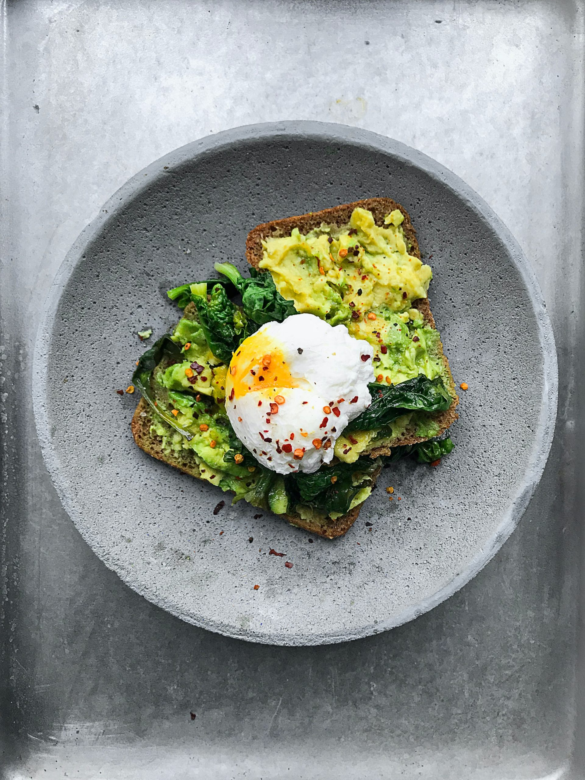 Egg and guac