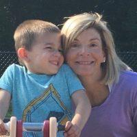 Nina and grandson